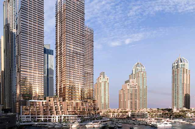 Dubai Marina's tallest block