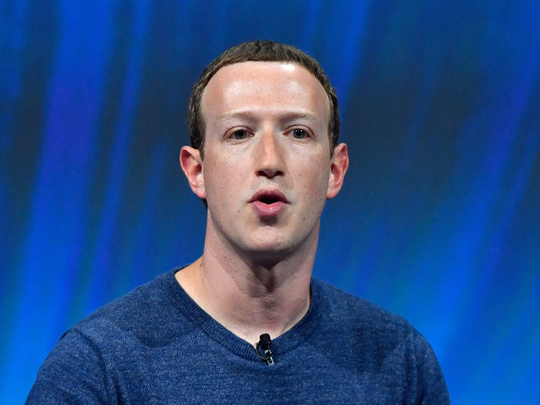 Facebook CEO Mark Zuckerberg 0123