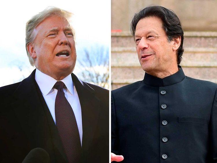 Image result for trump imran khan