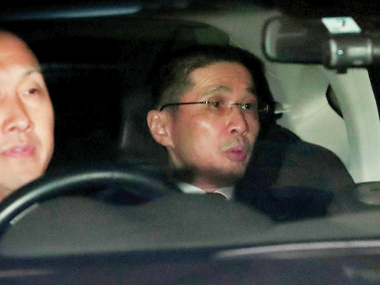 Nissan president and CEO Hiroto Saikawa
