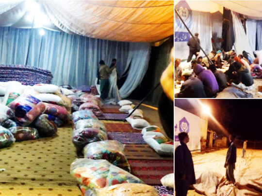 181124  imran Khan tent