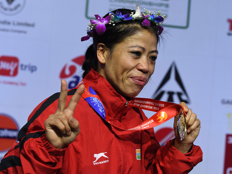 Mary Kom gold