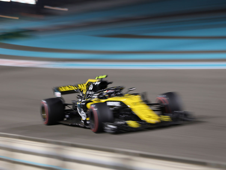Renault driver Carlos Sainz of Spain 092