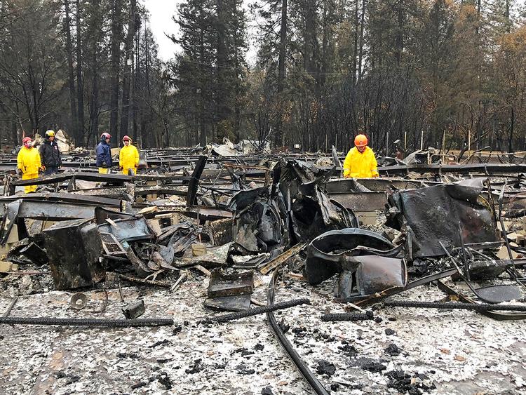California fire 2