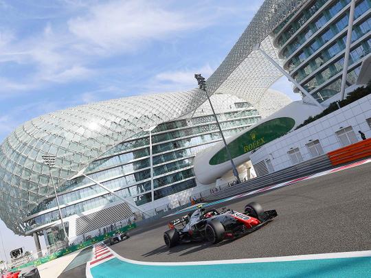 Haas F1's Danish driver Kevin Magnussen