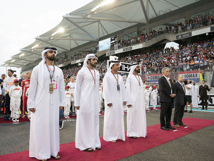 Leaders at F1