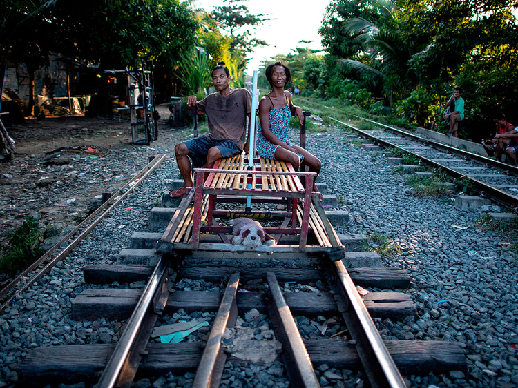 Philippines's rail trolleys