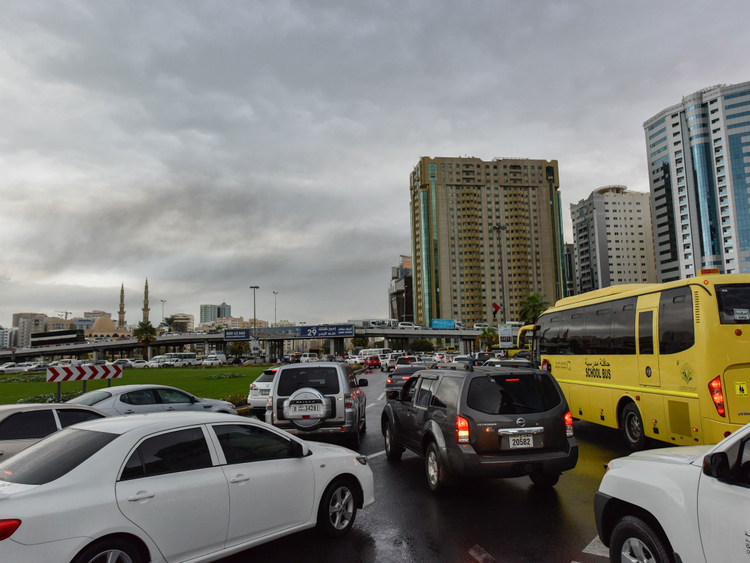 NAT_181126 rain in Sharjah
