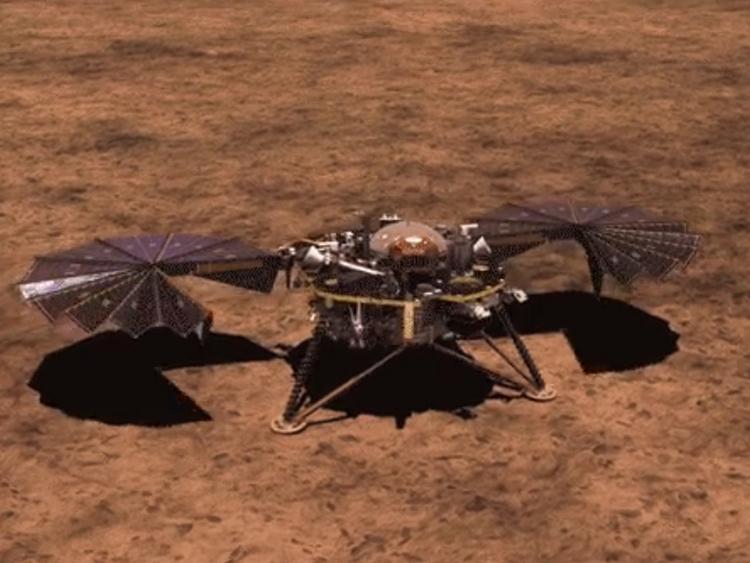 RDS_181127 Mars landing