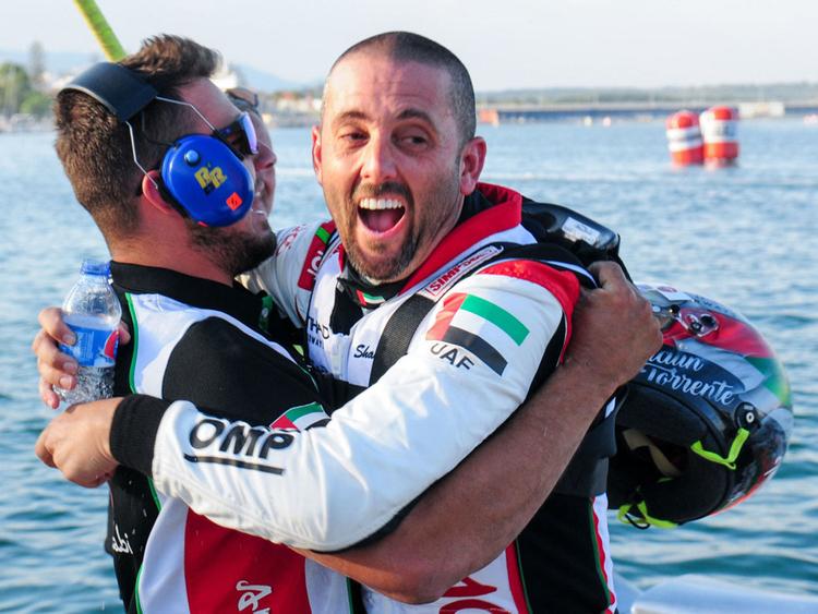 Shaun Torrente and Thani Al Qamzi
