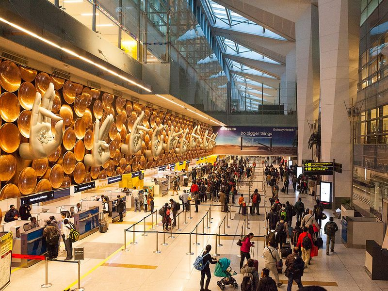 immigration Indira Gandhi Airport