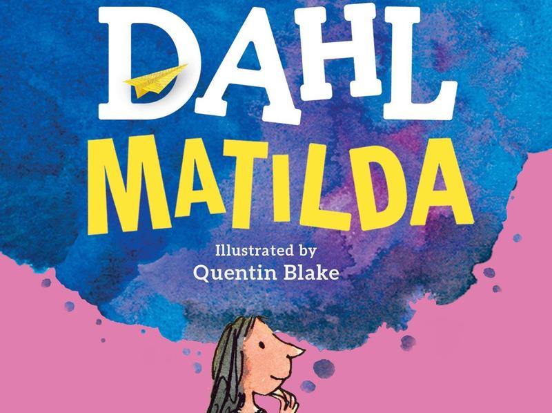Cover of Roald Dahl's book 'Matilda'