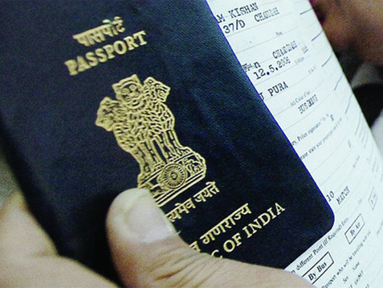 Indian passport 3
