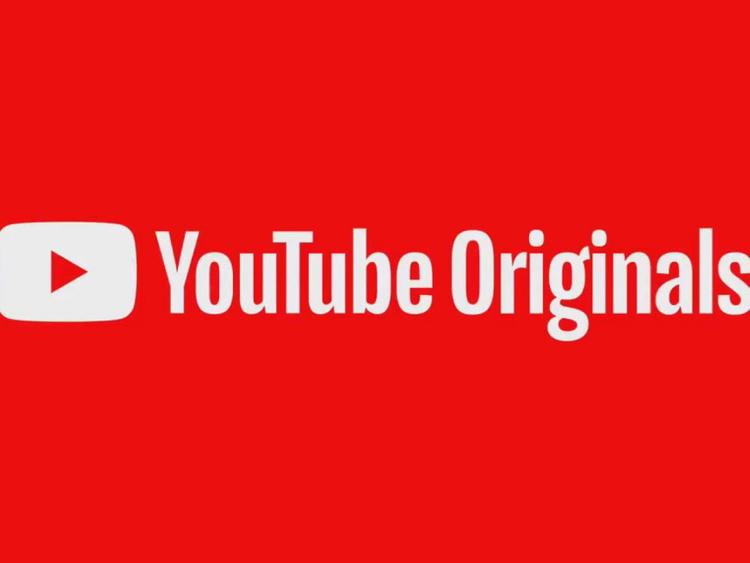 Logo of YouTube Originals
