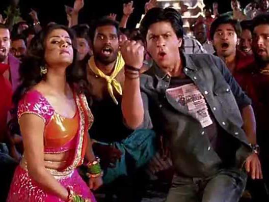 Priyamani in Chennai Express with Shah Rukh Khan2