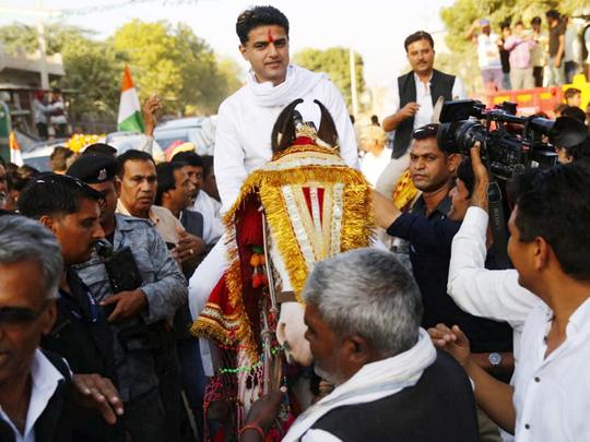 Rajasthan Congress president Sachin Pilot