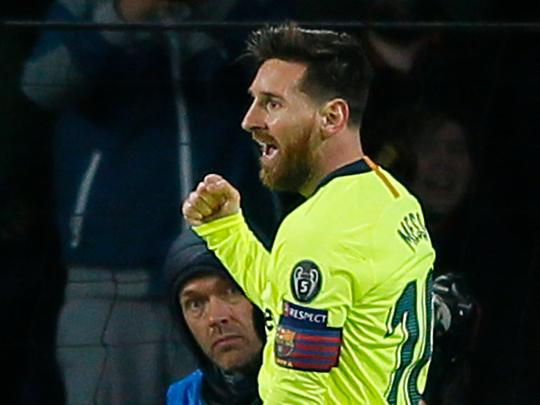 181129 Messi