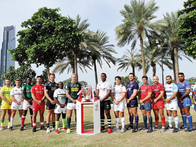 Men's team captains