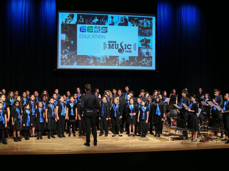 tab GEMS Music Hub and Choir