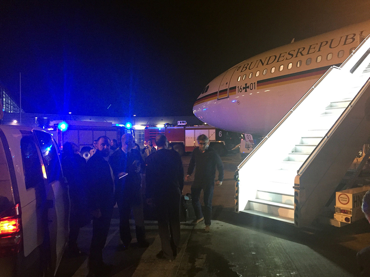 181130 Merkel plane