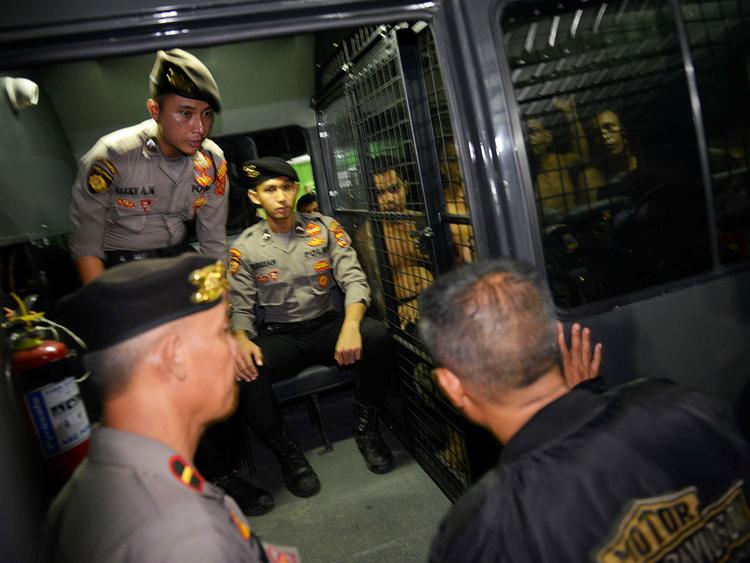Indonesia prison escape 30112018