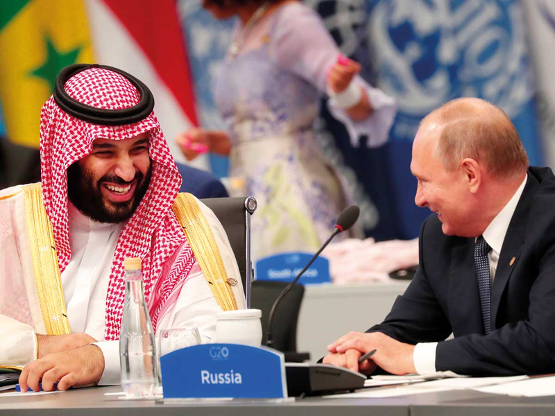 Prince Mohammad and Putin