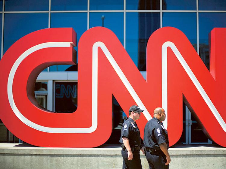 The CNN headquarters in Atlanta.