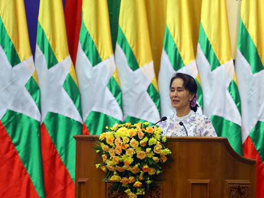 Myanmar's Aung San Suu Kyi hit with new criminal charge