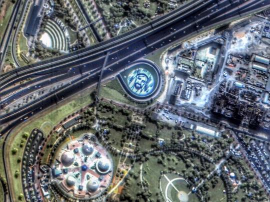 KhalifaSat Zayed portrait