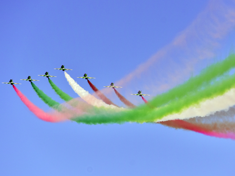 Al Fursan aerobatic show