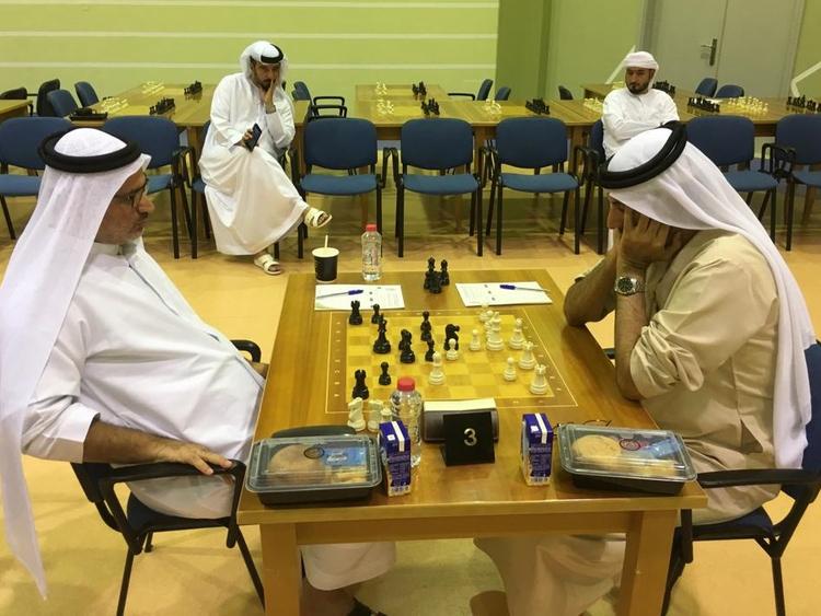 Najib Saleh of Dubai against Mohammad Altaher of Sharjah 0
