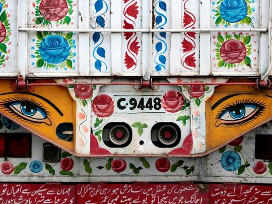 Truck art Pakistan 2