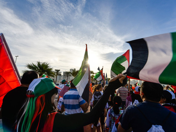 UAE Solidarity walk 2018 a