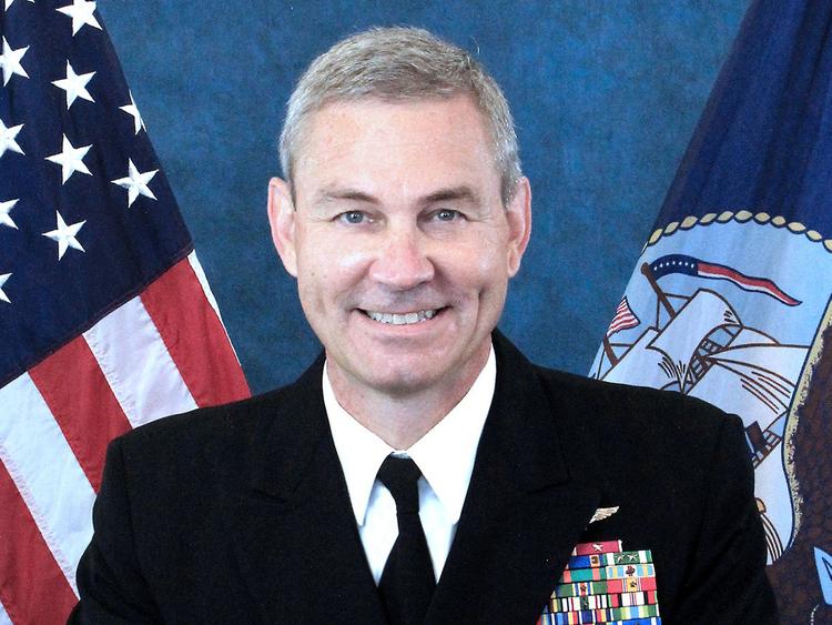 Vice Admiral Scott Stearney 181202