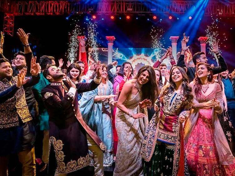 Dance chopra wedding