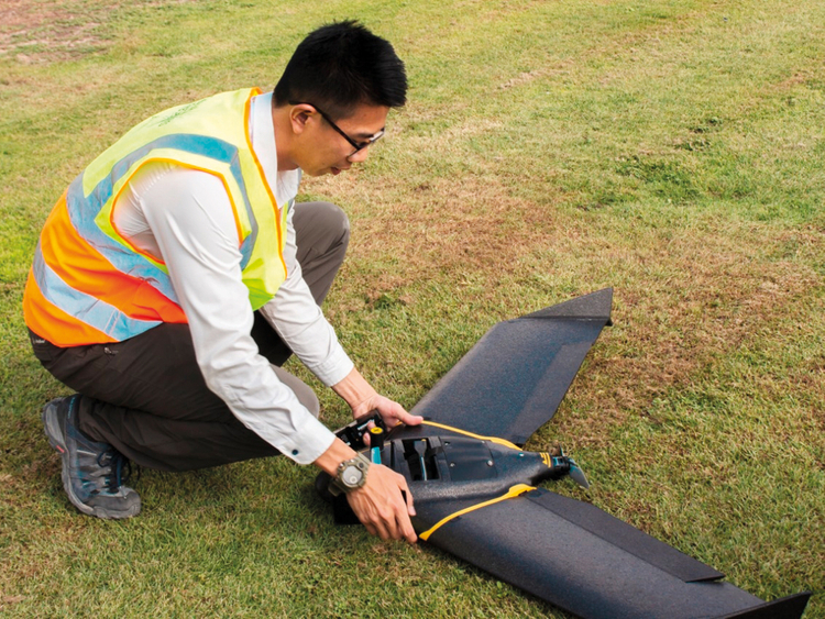 Drones to fly the future of farming