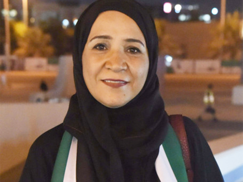 Emirati writer Mouza Awad