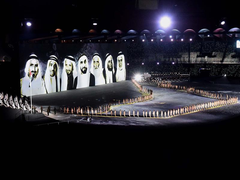 The UAE Soldeirs parade