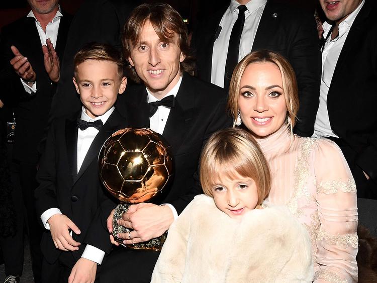 Croatian midfielder Luka Modric