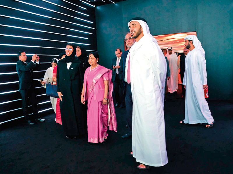 181205 zayed ghandi museum