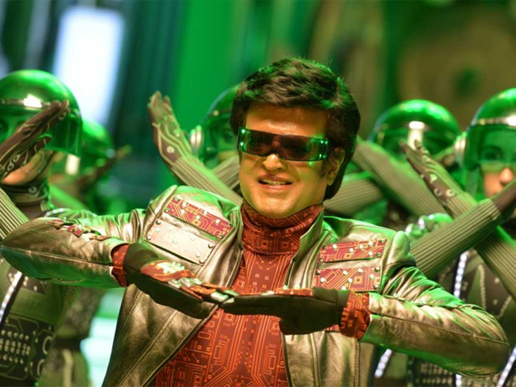 Rajinikanth's looks and his cracking voice fail to conceal the fact