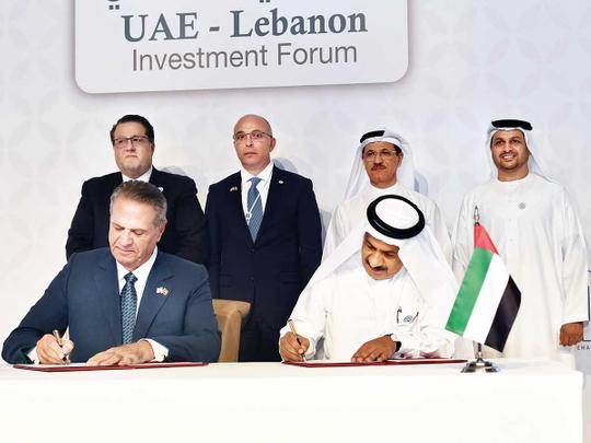 The UAE and Lebanon