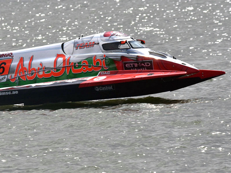 Team Abu Dhabi set to wrap up F1 powerboating title this weekend