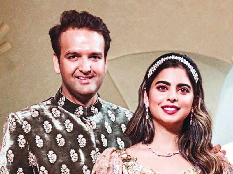 181208 Anand Piramal and Isha Ambani