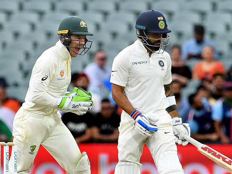 India's captain Virat Kohli Test in Australia 08122018