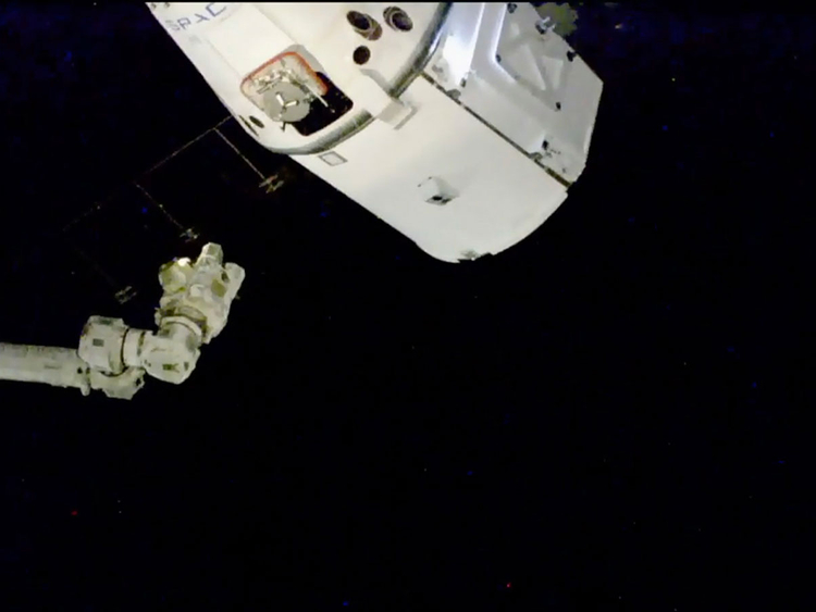 SpaceX Dragon cargo