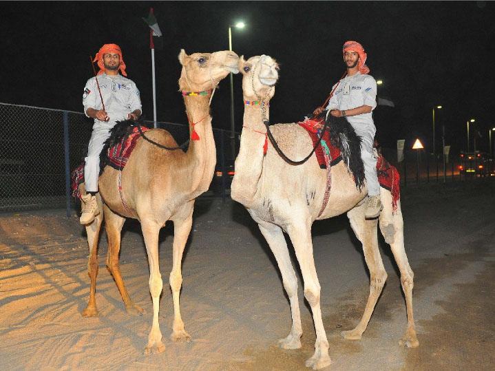 Abu Dhabi police patrol