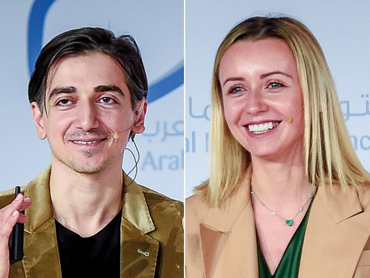Murad and Natalie Osmann