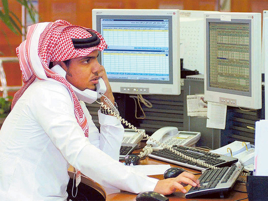 Saudi trading