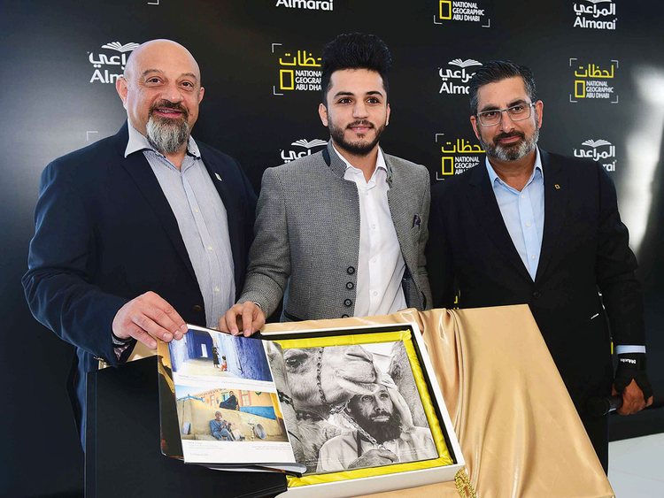 Gaza youth wins National Geographic photography competition